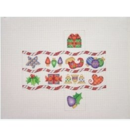 A Collection of Designs Christmas Package / Candy Cane Stripes / Heart, Star, Package<br />