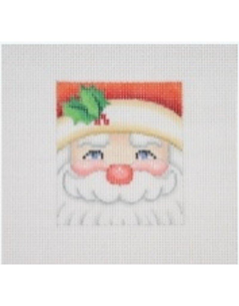 A Collection of Designs Mini Santa Face - Ornament<br />2.5&quot; x 2.5&quot;
