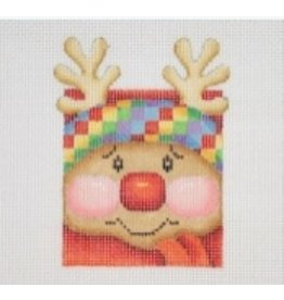A Collection of Designs Mini - Rudolph Face - Ornament<br />