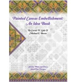 Book Painted Canvases - Embellishment Book