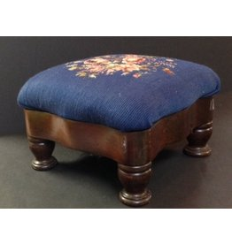 CRS Needlepoint Footstool