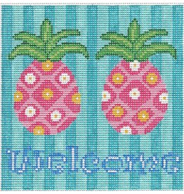 Barbara Bergsten Pineapple Welcome Saying <br />