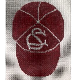 All About Stitching Baseball Cap ornament<br />
