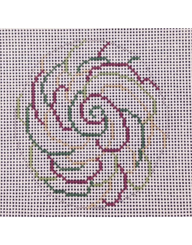 All About Stitching Multi Swirls Lollipop -ornament<br />