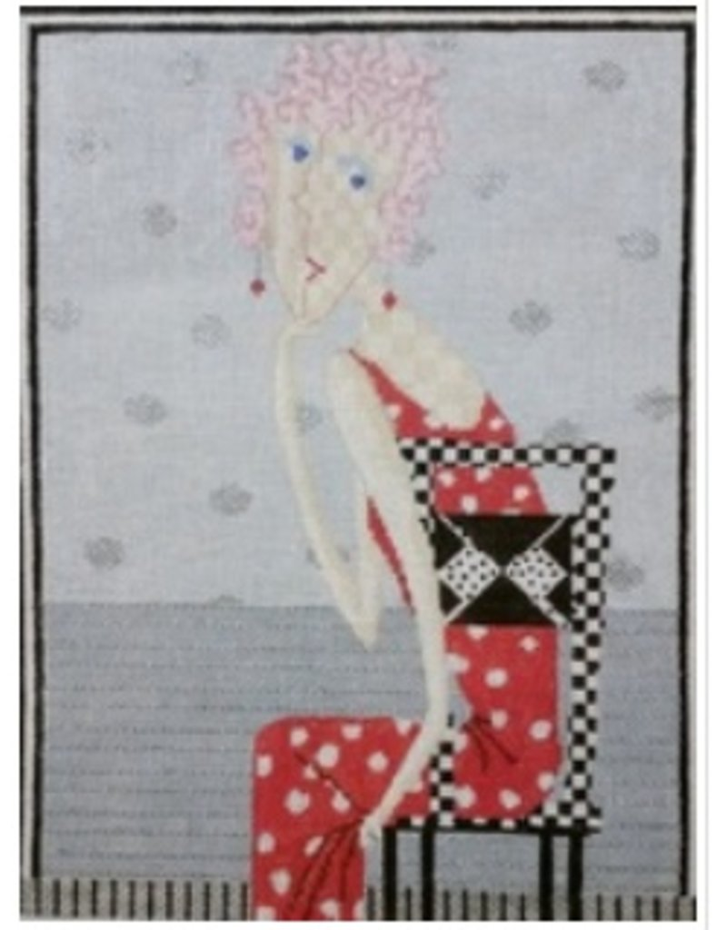 All About Stitching Scarlet <br />11&quot; x 14.5&quot;