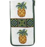Alice Peterson Pineapple Eyeglass Case