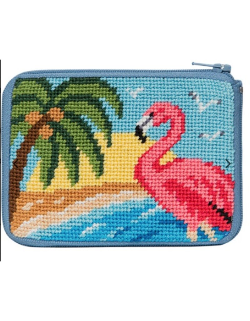 Alice Peterson Flamingo Credit Card Case