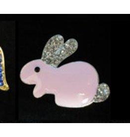 Elizabeth Turner Pink Bunny Magnet
