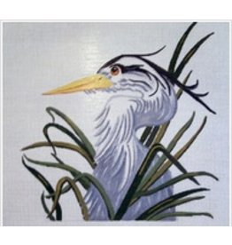 All About Stitching Blue Heron<br />