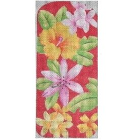 Kirk &amp; Hamilton Tropical Red Eyeglass Case<br />