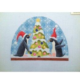 Kirk &amp; Hamilton Penguin Snowdome<br />5&quot; x 5&quot;