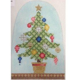"Kirk & Hamilton Christmas Snowdome - Little Tree 3.75"" x 5.5"""