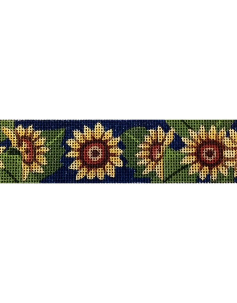 All About Stitching Sunflower Hat Band