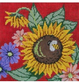 Patti Mann Sunflower w/Bee<br />