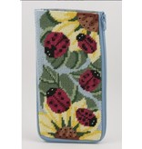 Alice Peterson Ladybugs Eye Glass Case