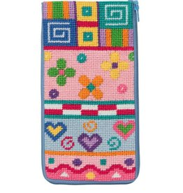 Alice Peterson Patchwork Eye Glass Case