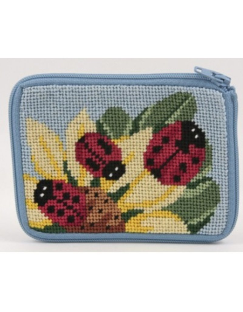 Alice Peterson Ladybugs Coin/Credit Card Case