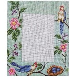 Alice Peterson Bird &amp; Nest Picture Frame<br />5&quot; x 7&quot; opening