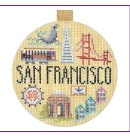 Kirk &amp; Hamilton San Francisco - ornament<br />4&quot; Round