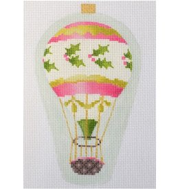 Kirk & Hamilton Balloon Ornament - Pink Holly
