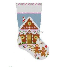 Susan Roberts Gingerbread Housse stocking