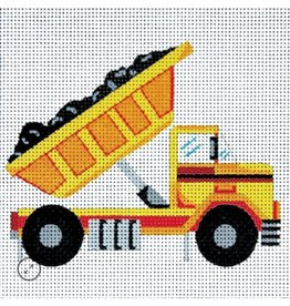 "Alice Peterson Small Dump Truck<br /> 6"" x 6"""