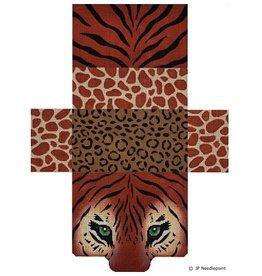 Tiger Eyes & Skins Brick Bag Purse