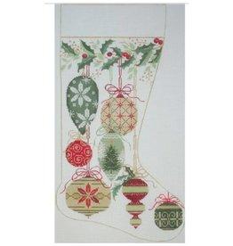 Alice Peterson Natural Colored ornaments - stocking