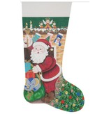 Alice Peterson Twas the Night Before Christmas Stocking