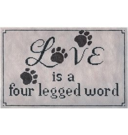 "Labors of Love Love is a 4-Legged Word<br /> 11"" x 7"""