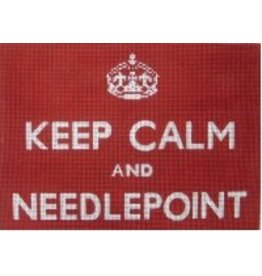 "Unique NZ Designs Keep Calm and Needlepoint<br /> 8"" x 11"""