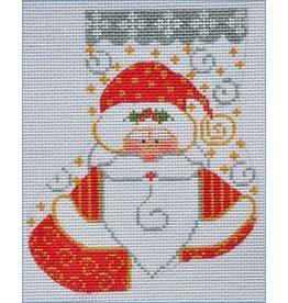 Danji Santa w/ Holly Mini Stocking