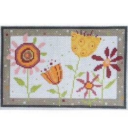 """Pippin Studio Flower Garden<br /> 8.25"""" x 5.25"""""""