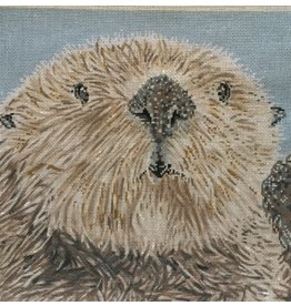 "Meredith Otter<br /> 13"" x 13"""