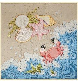 """Fleur de Paris Sealife<br /> 16"""" x 16"""""""