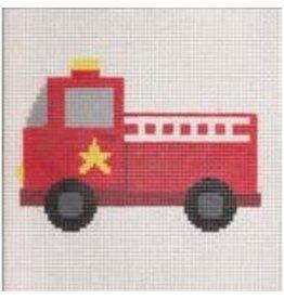 "Stitch-It Fire Engine<br /> 8"" x 8"""