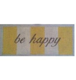"""Julia Snyder Be Happy<br /> 5"""" x 12"""""""