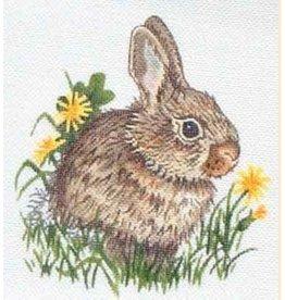 "Robbyn&#039;s Nest Bunny<br /> 8"" x 8"""