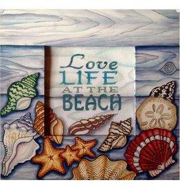 Robbyn's Nest Love the Beach  Frame