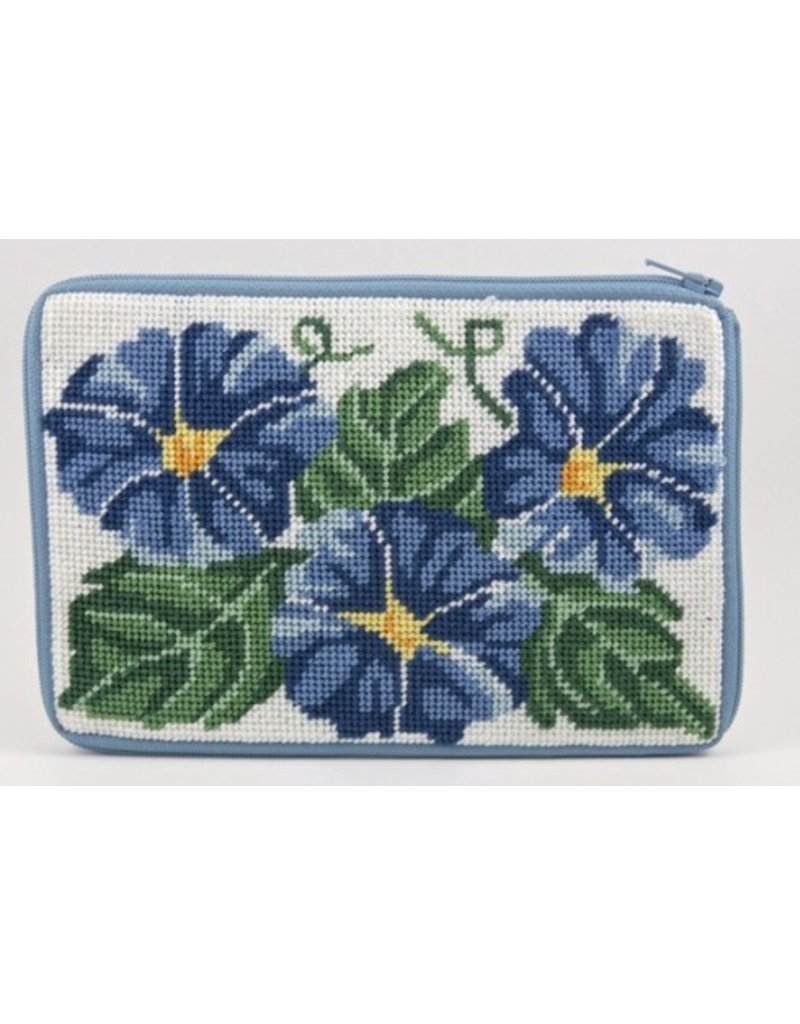 Alice Peterson Morning Glories Cosmetic Purse