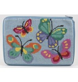 Alice Peterson Butterflies Cosmetic Purse