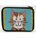Alice Peterson Cat coin purse/credit card case