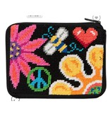 Alice Peterson Fun Floral coin purse/credit card case