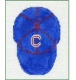 All About Stitching Baseball Cap ornament
