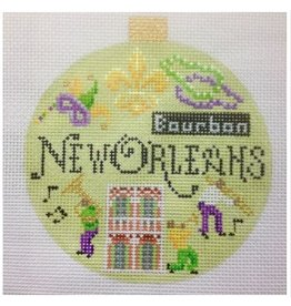 "Kirk &amp; Hamilton New Orleans - Travel Round - ornament<br /> 4"" Round"