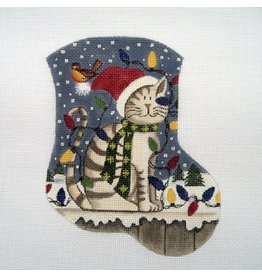 "Danji Christmas Kitty <br /> Mini Stocking<br /> 5.5"" x 6.5"""