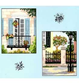 CW Designs City Gardens Collection 2<br /> Cross Stitch Pattern