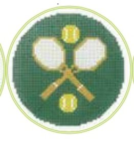 "Colonial Needle Tennis - 3"" Round"
