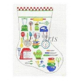 Susan Roberts Kitchen item mini stocking