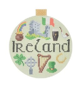 "Kirk &amp; Hamilton Ireland - ornament<br /> 4""  round"